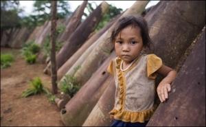 laos dziewczynka