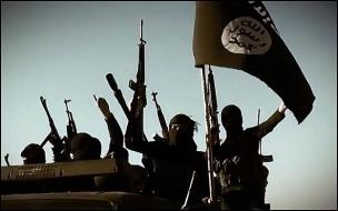 Bojownicy ISIS w irackiej prowincji Anbar.