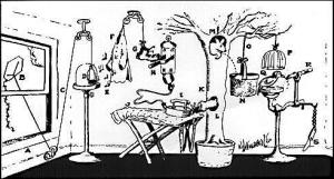Rube Goldberg - Temperówka