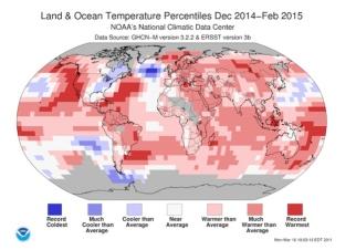 Mapa pokazuje masy wody o rekordowo niskiej temperaturze na południe od Grenlandii w rekordowo ciepłym świecie. Dymiący pistolet ogromnego odpływu lodowcowego i zaburzenia termohalinowego na Północnym Alantyku.