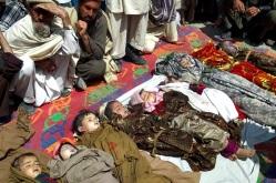 Ofiary ataku NATO